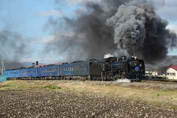 Photo gallery steam locomotives in Japan: SL Ginga C58-239 and the steam train to the stars.