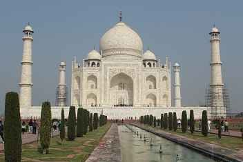 Photo gallery India: the Taj Mahal in Agra आगरा