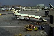 FRA*509, Royal Air Maroc (Marrocos), Boeing 727 no portão